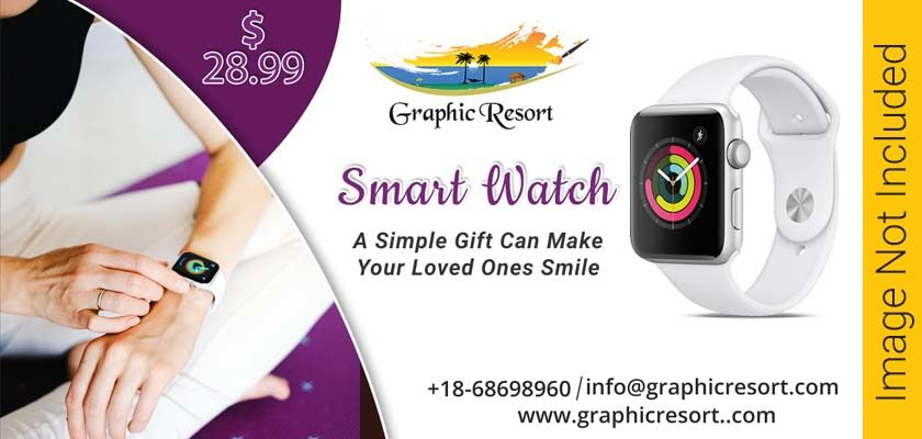 Smart Watch Social Media Post Banner