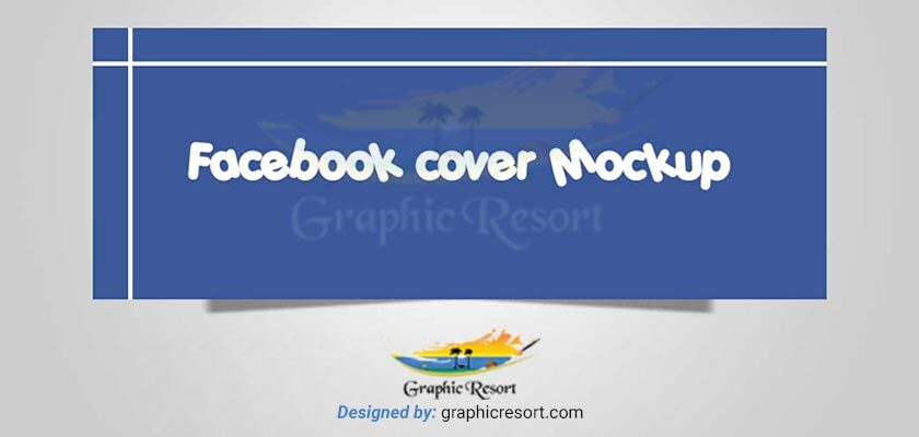 Facebook Cover Image Mockup For Your Portfolio Free PSD