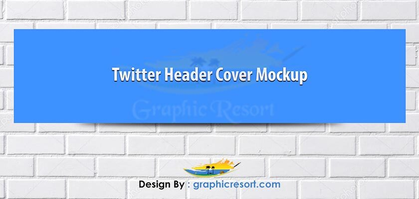 Twitter cover banner mokcup Free PSD#1 840-by-400-preview