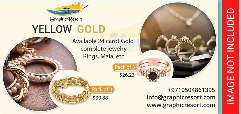 gold jewelry post banner