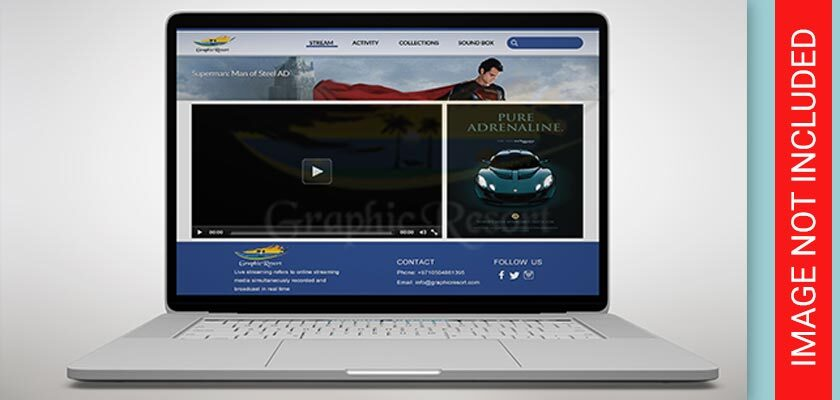 Live Streaming Website Layout design 840-by-400-preview