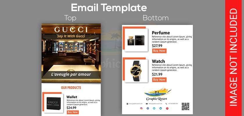 multiple product email template