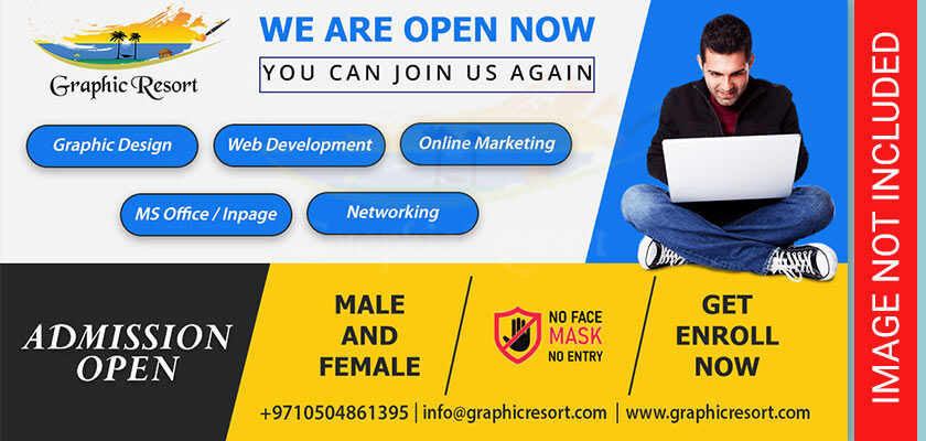 admission open post banner