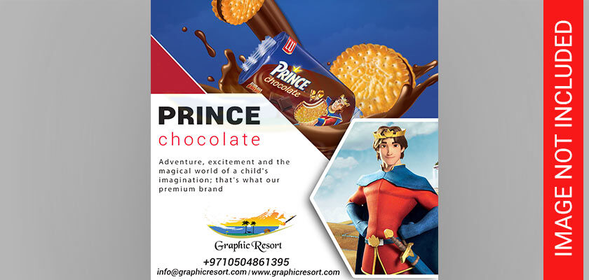 prince biscuit social post