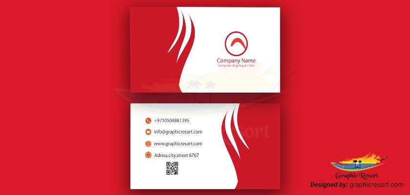 Visiting Card design Ai File From Graphic Resort vol# 8 -840-by-400-preview